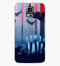 Blue Stone Landscape Case/Skin for Samsung Galaxy
