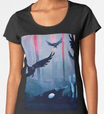 Blue Stone Landscape Women's Premium T-Shirt