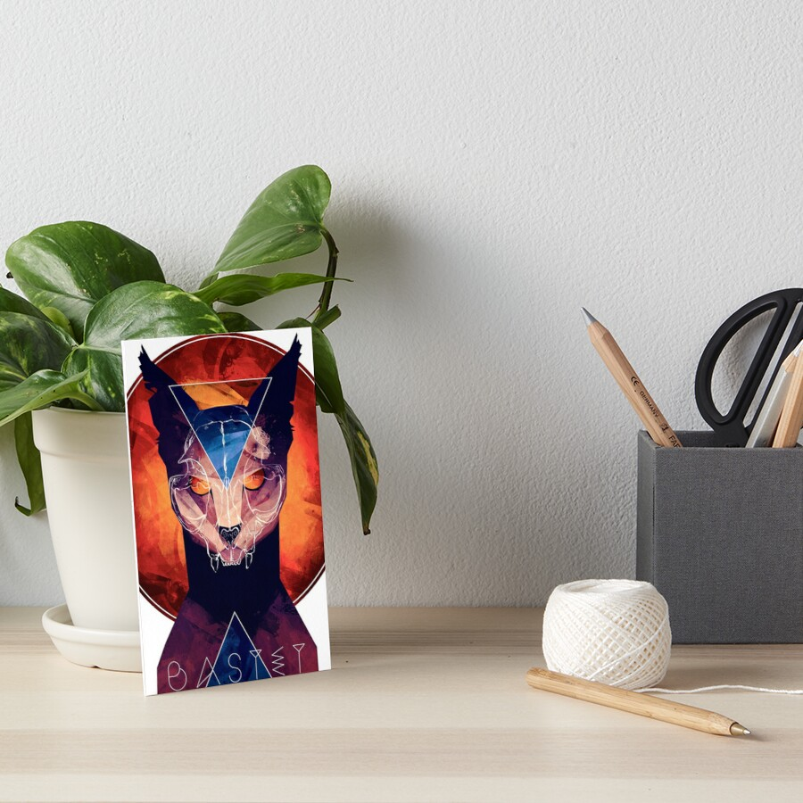 Bastet - Cat Goddess by MicaelaDawn