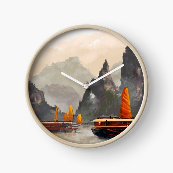 Ha Long Bay Clock