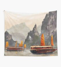 Ha Long Bay Wall Tapestry