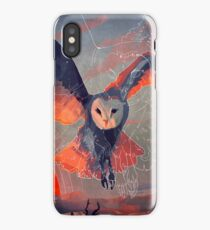 Owl Hunt iPhone Case