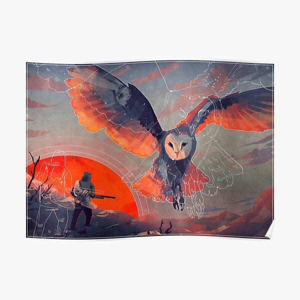 Owl Hunt Poster