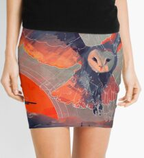 Owl Hunt Mini Skirt