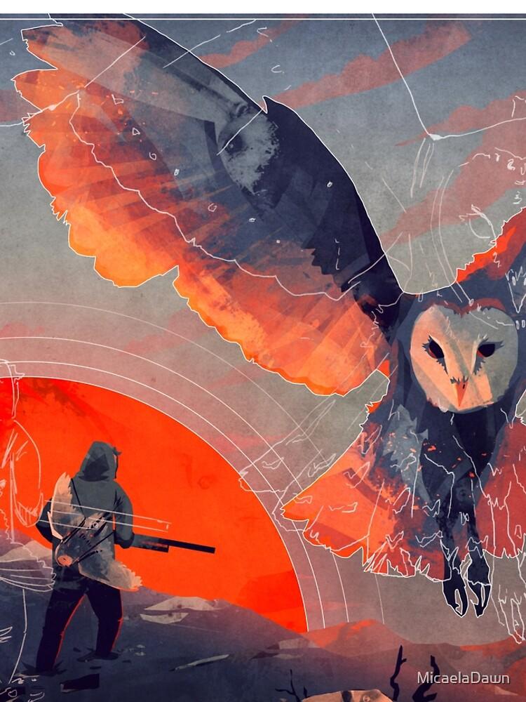 Owl Hunt by MicaelaDawn