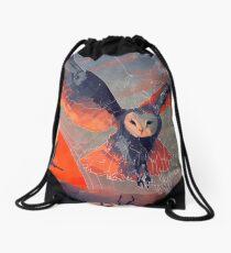 Owl Hunt Drawstring Bag