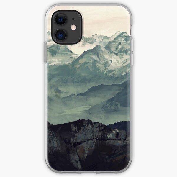 Mountain Fog iPhone Soft Case
