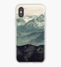 Mountain Fog iPhone Case