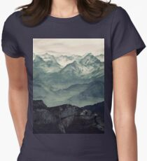 Mountain Fog Women's Fitted T-Shirt