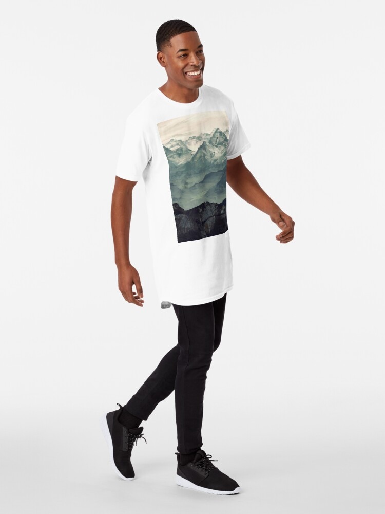 Alternate view of Mountain Fog Long T-Shirt