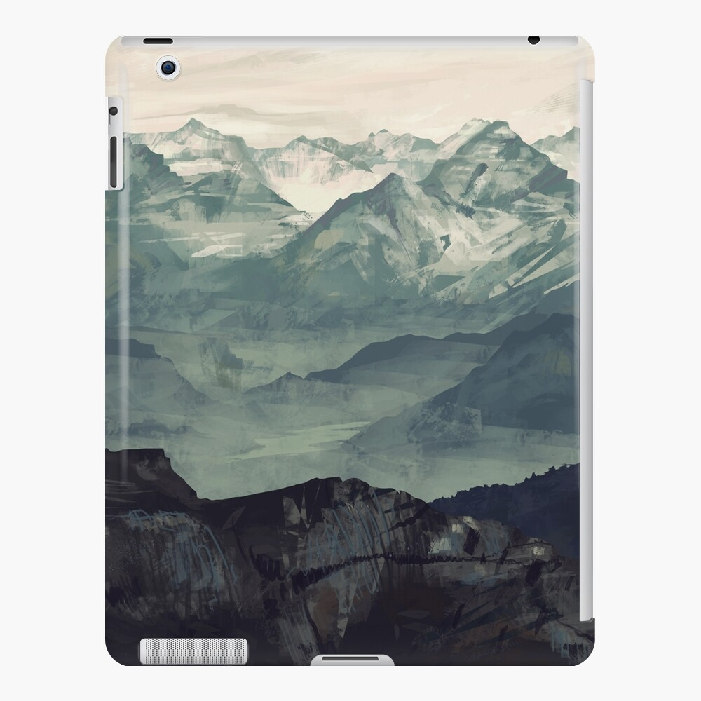 Mountain Fog iPad Case & Skin