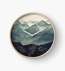Mountain Fog Clock