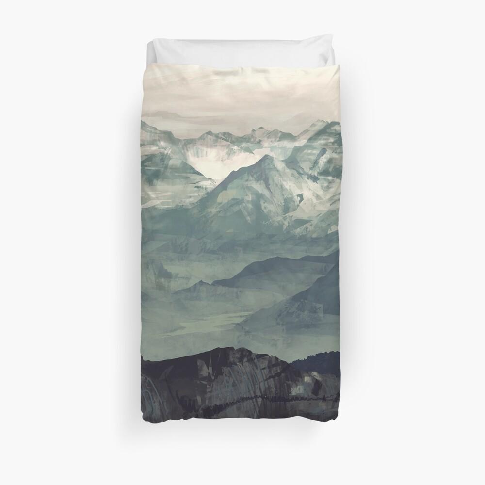 Mountain Fog Duvet Cover