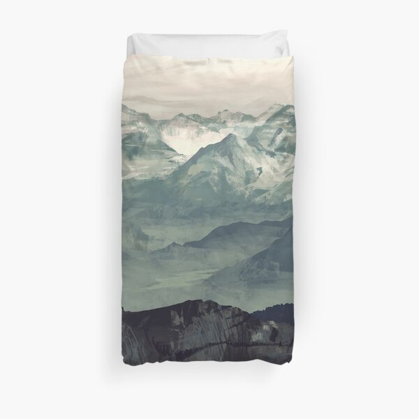 Mountain Fog Duvet Cover