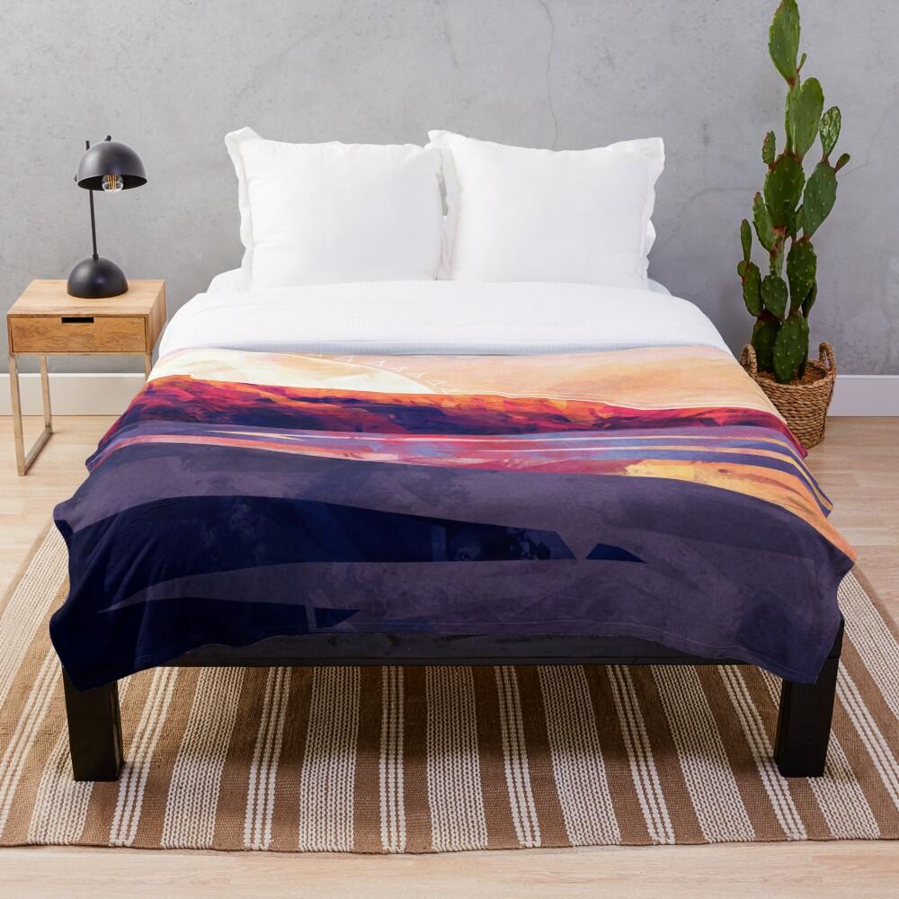 Table Mountain Throw Blanket