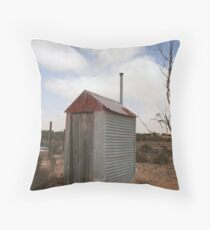 Outback dunny Throw Pillow