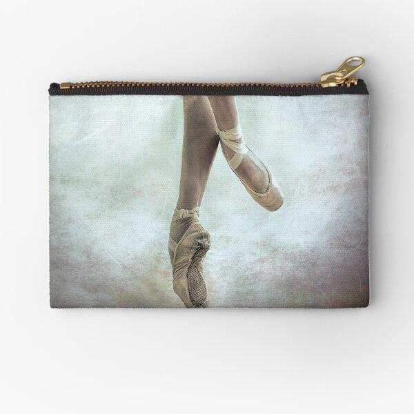Ballerina:  Pique Zipper Pouch