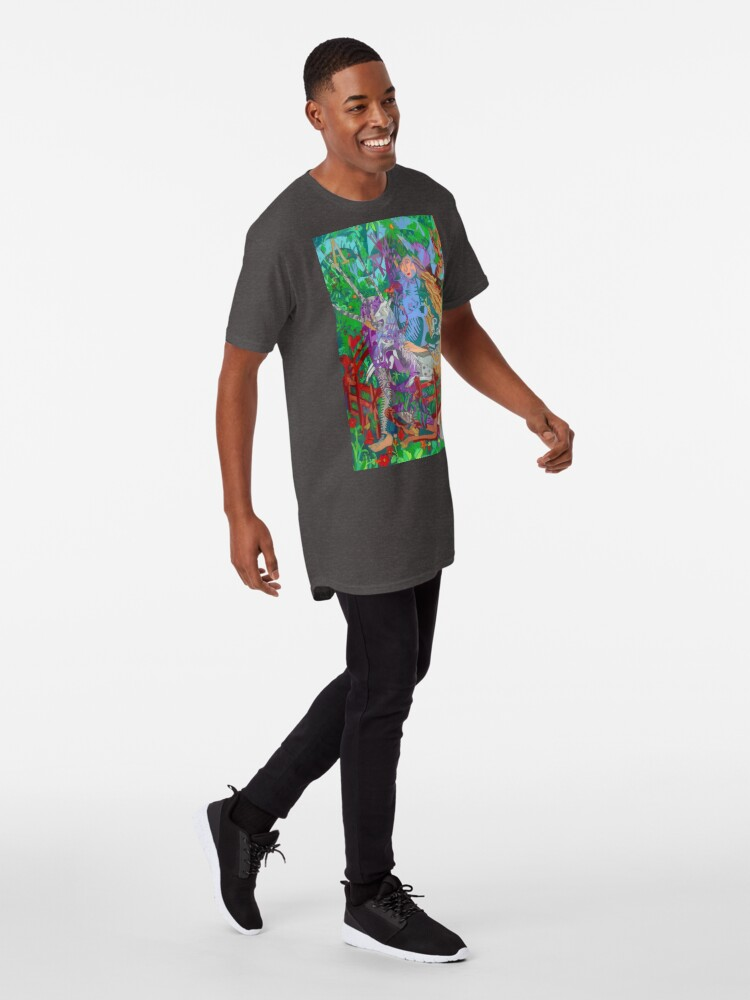 Alternate view of Archeology of the Unicorn Long T-Shirt