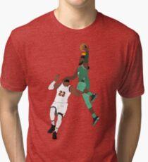 Camiseta de tejido mixto El nuevo rey de la NBA