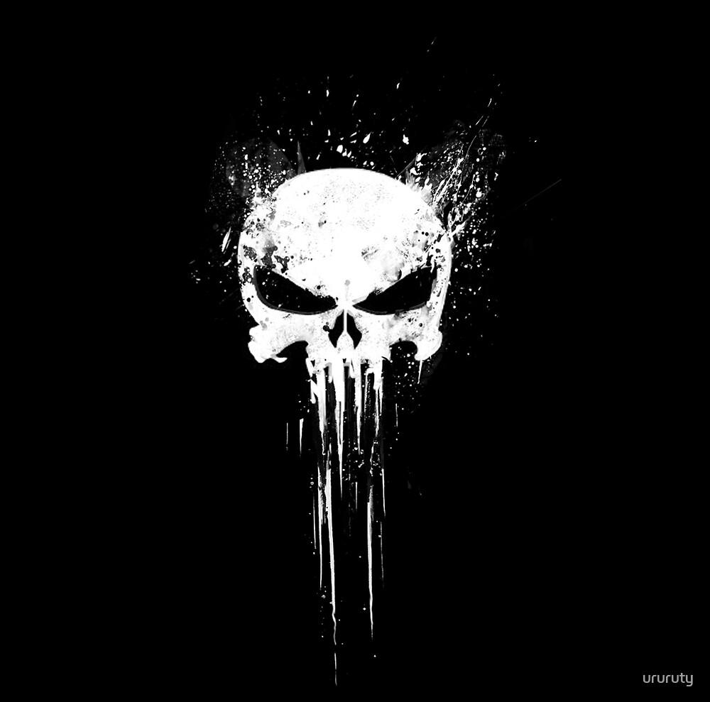 skull by ururuty