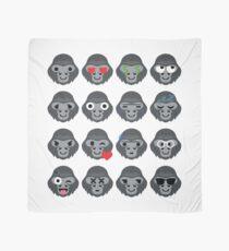 Gorilla Emoji  Scarf