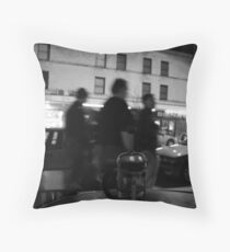 strip tea Throw Pillow