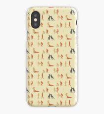 Men who fight like kangaroos (Mosaic) iPhone Case/Skin