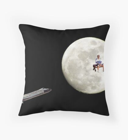 you beamed me up scotty! Throw Pillow