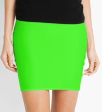 Neon Green  Mini Skirt