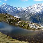 Sealy Tarns, Mount Cook National Park, New Zealand by aerdeyn