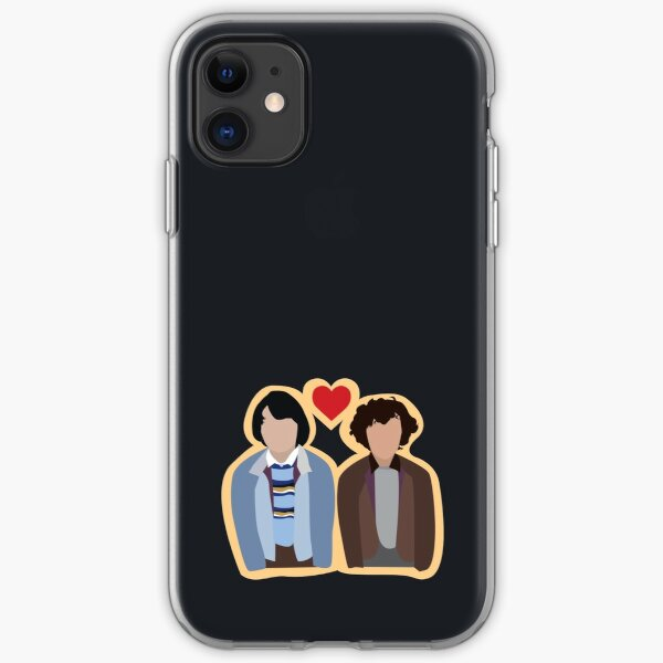 Stranger Things: Mike and Eleven iPhone Soft Case