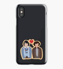 Stranger Things: Mike and Eleven iPhone Case/Skin