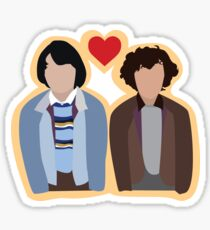 Stranger Things: Mike and Eleven Sticker