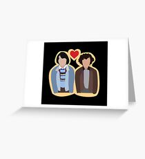 Stranger Things: Mike and Eleven Greeting Card