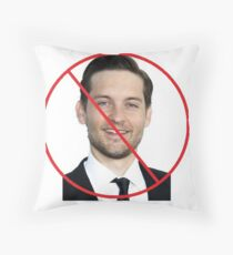 Anti-Tobey Maguire Throw Pillow
