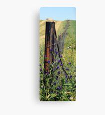 Slim Fence Canvas Print