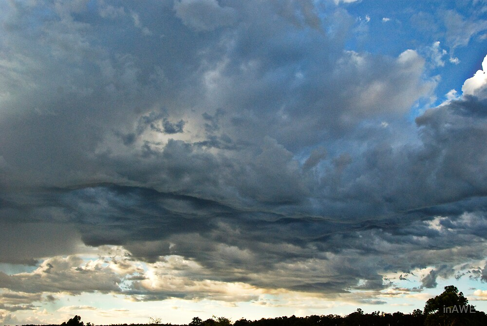 Sky Drapes... by inAWE