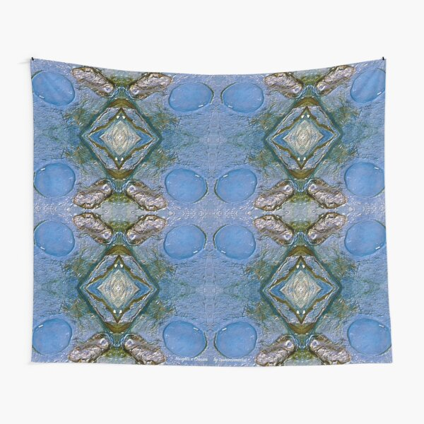 D1G1TAL-M00DZ ~ WALLDECORATION ~ GALLIMAUFRY ~ Naughts n Crosses by tasmanianartist Tapestry