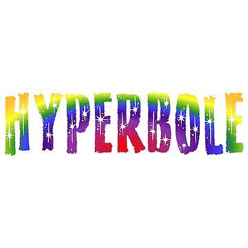 Hyperbole by figureofpeach