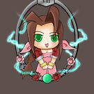 Aerith and the Lifestream by Caleb Baker