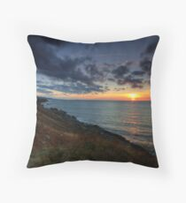 Cap Le Moine Sunset Throw Pillow