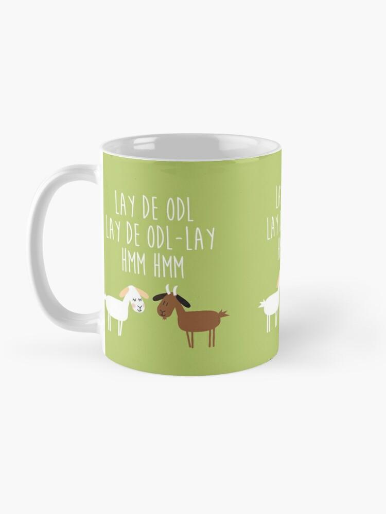 Alternate view of Sound of music goat herd Mug