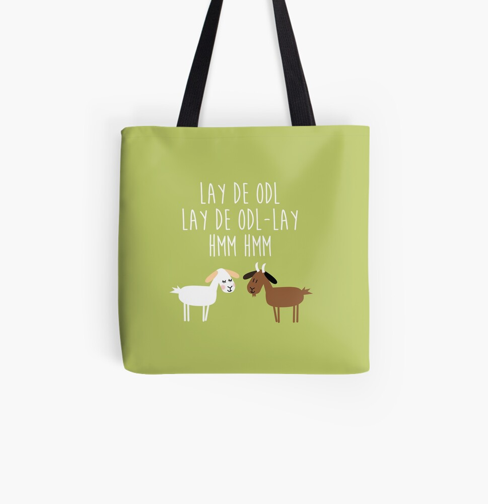 Sound of music goat herd All Over Print Tote Bag