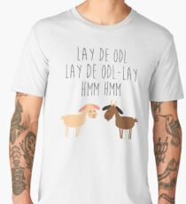 Sound of music goat herd Men's Premium T-Shirt