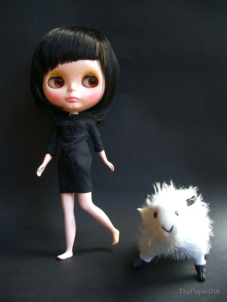 Me & My Pet Goat by ThePaperDoll