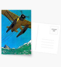 Tintenfisch Poster Postkarten