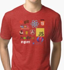 Javascript Stickers, Mugs, T-shirts and Phone cases Tri-blend T-Shirt
