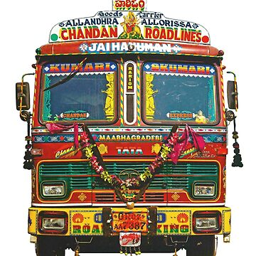 Indian Truck Art sticker by bernys