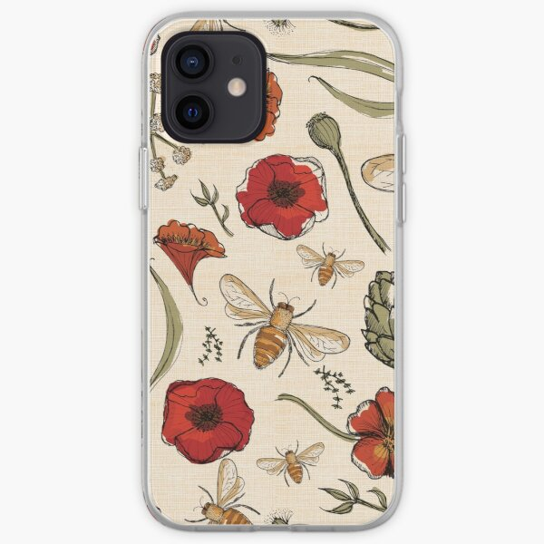 Bees iPhone Soft Case