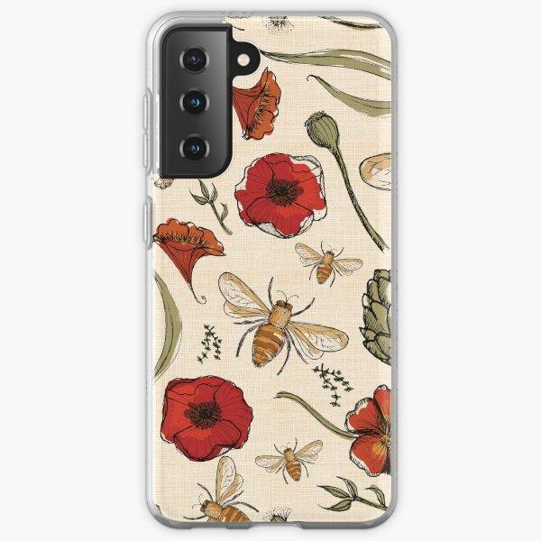 Bees Samsung Galaxy Soft Case